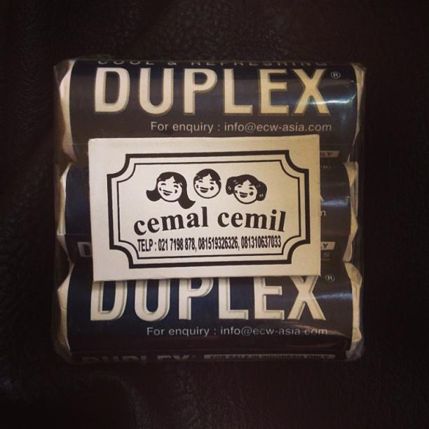 バリ島のお土産にDUPLEX ミント味 Rp.15000 - バリ島インスタグラム