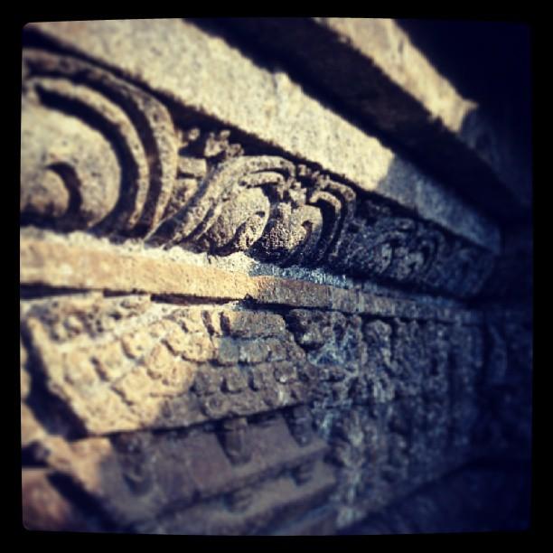 素朴なジャゴ寺院@マラン - バリ島インスタグラム