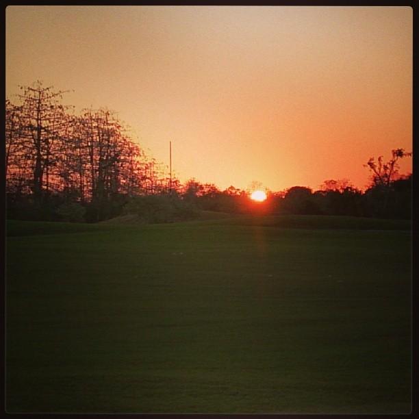 ゴルフ場からのサンセット… - バリ島インスタグラム